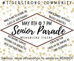 Senior Parade - Friday